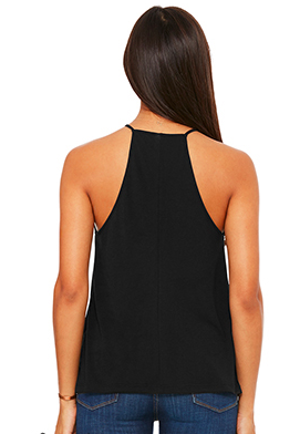 Mystic Elephant Flowy High Neck, Tank