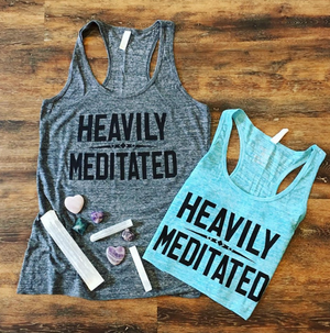 Heavily Meditated, Racerback Tank