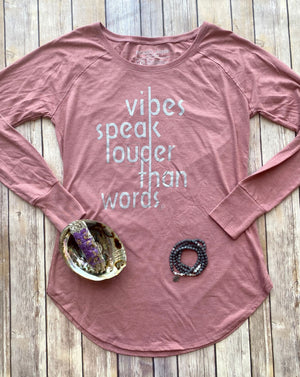 Vibes Speak Louder Tunic