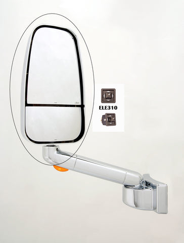 Monaco/Holiday Rambler Chrome 1750 Series Replacement Mirror Head (310-CRM-1703CCHR)