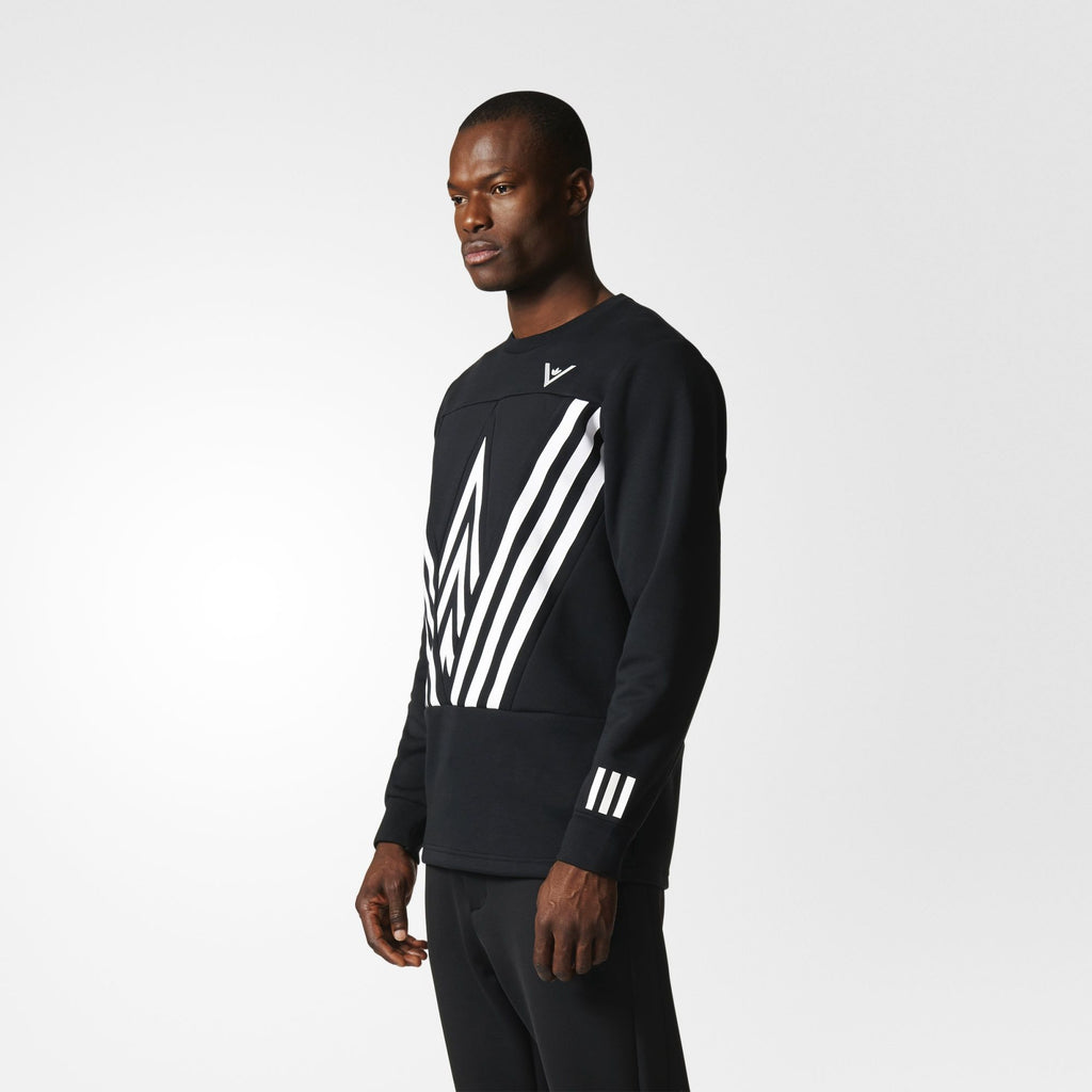 adidas WM Crew Sweatshirt - BQ0944 - Model