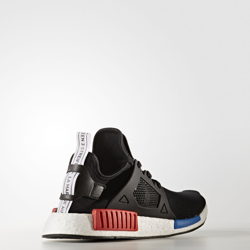 adidas NMD XR1 OG Sneakers - Core Black / Lush Red / Royal Blue BY1909 Standard 1 | AStore
