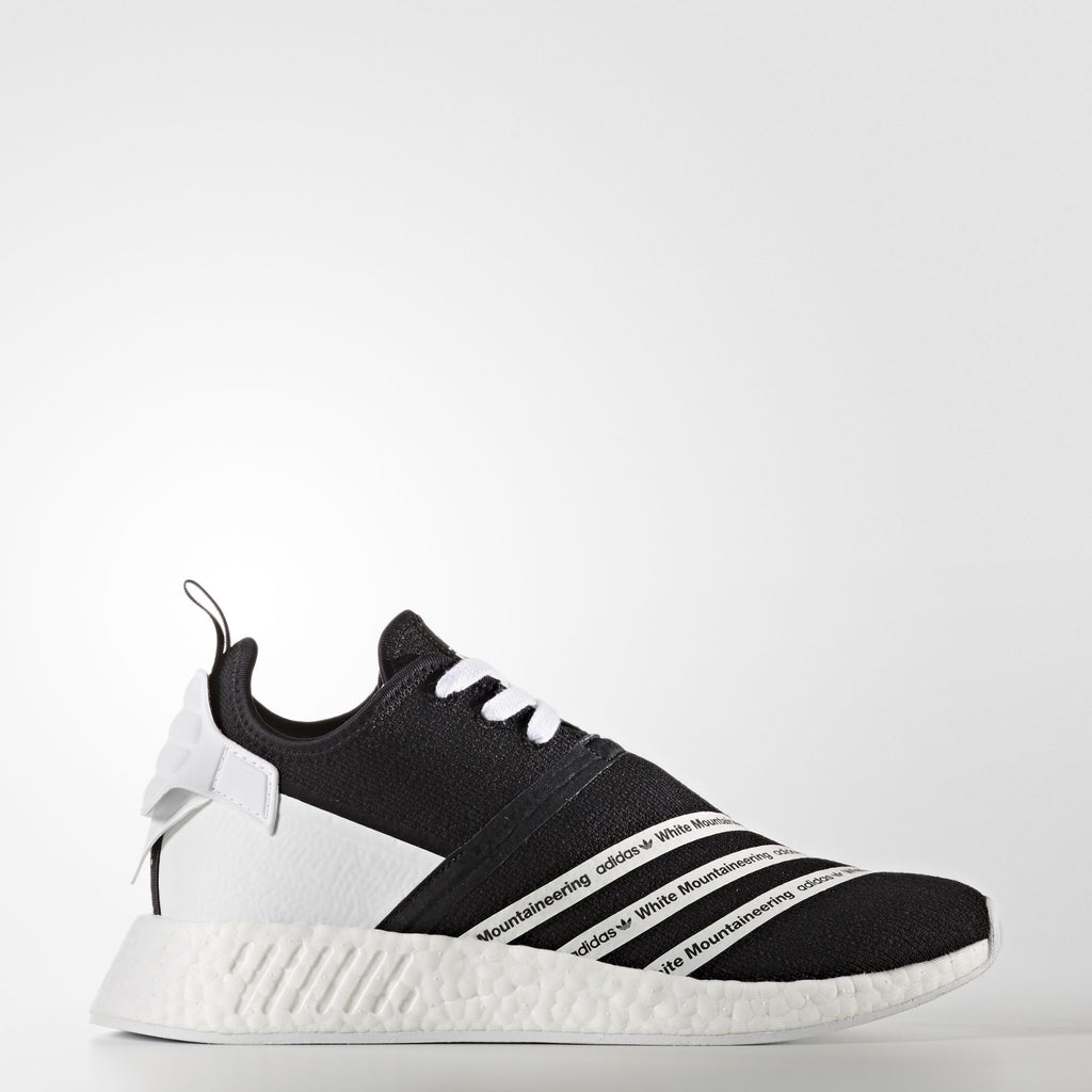 adidas x White Mountaineering NMD_R2 - Black / White | AStore