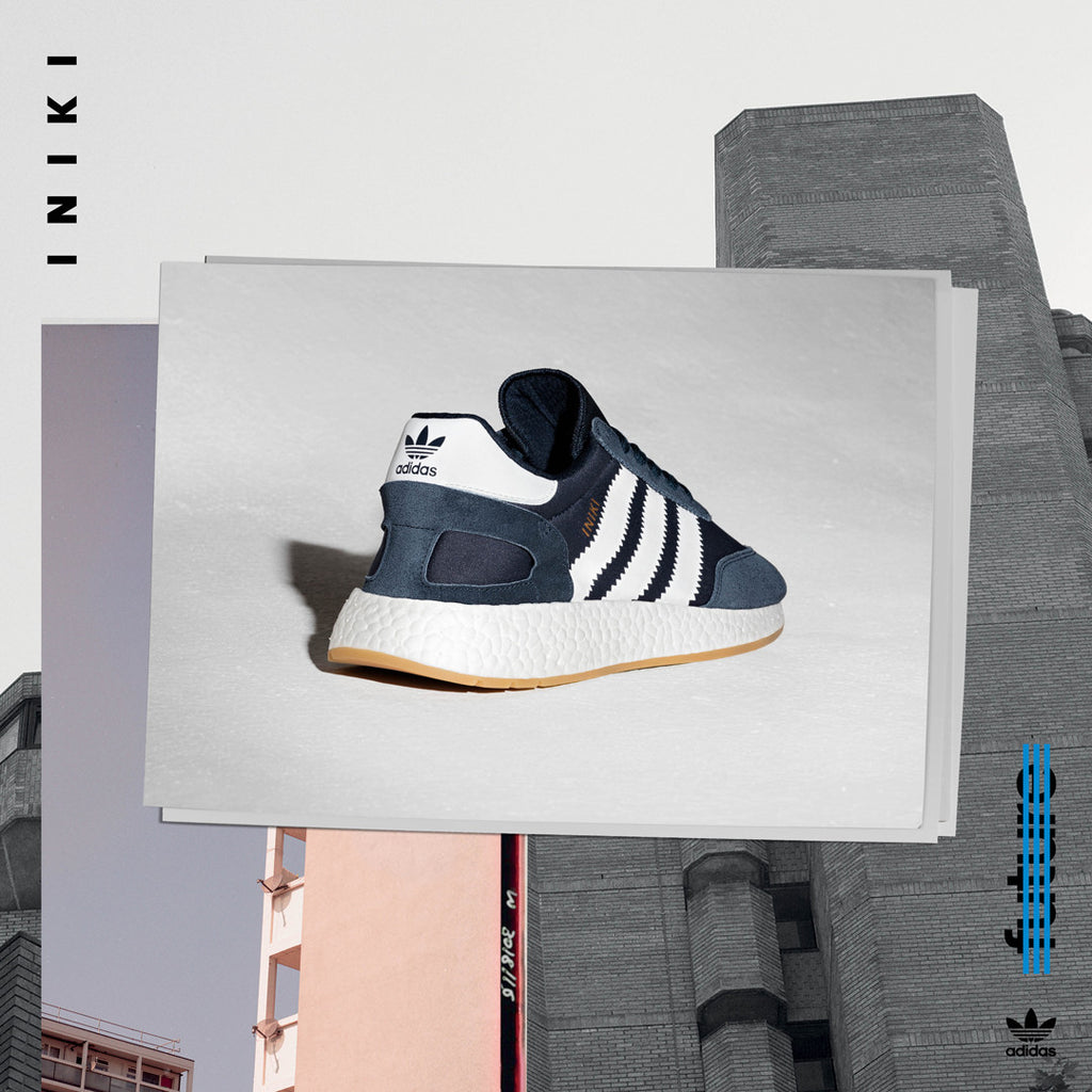 adidas Iniki Runner - Blue BB2092 | AStore