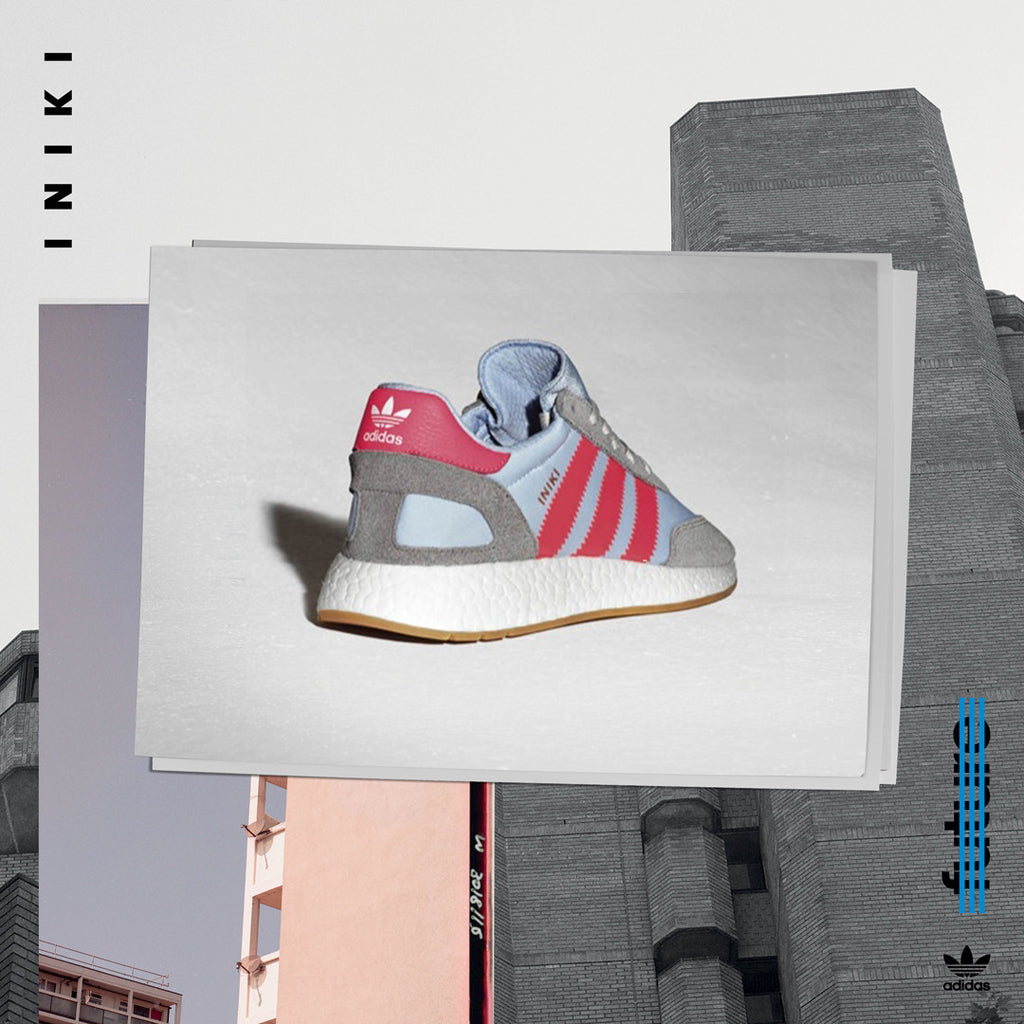 adidas Iniki Sneakers - Solid Grey BB2098 | AStore