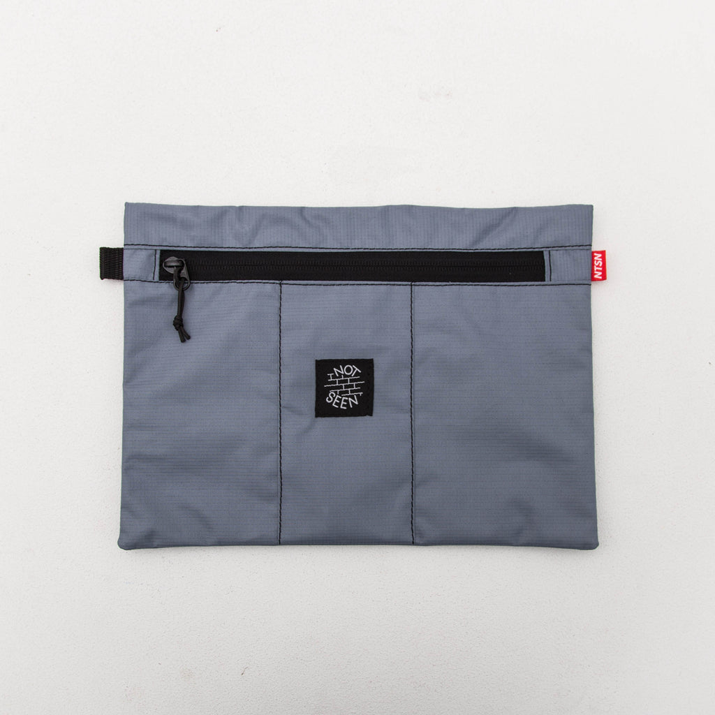 Not Seen Tobacco A4 Pouch - Grey | AStore
