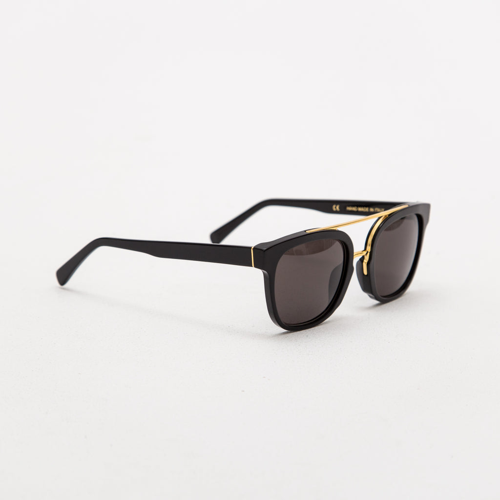 Retrosuperfuture Akin Black sunglasses GVR