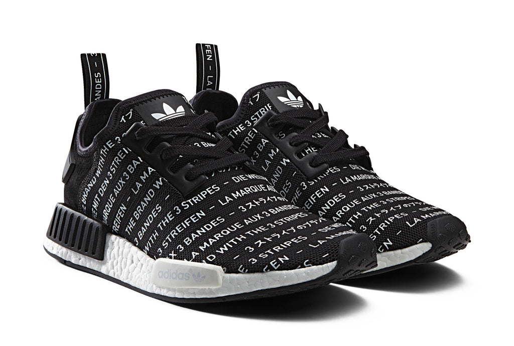 NMD R1 Primeknit Japan Black S81847