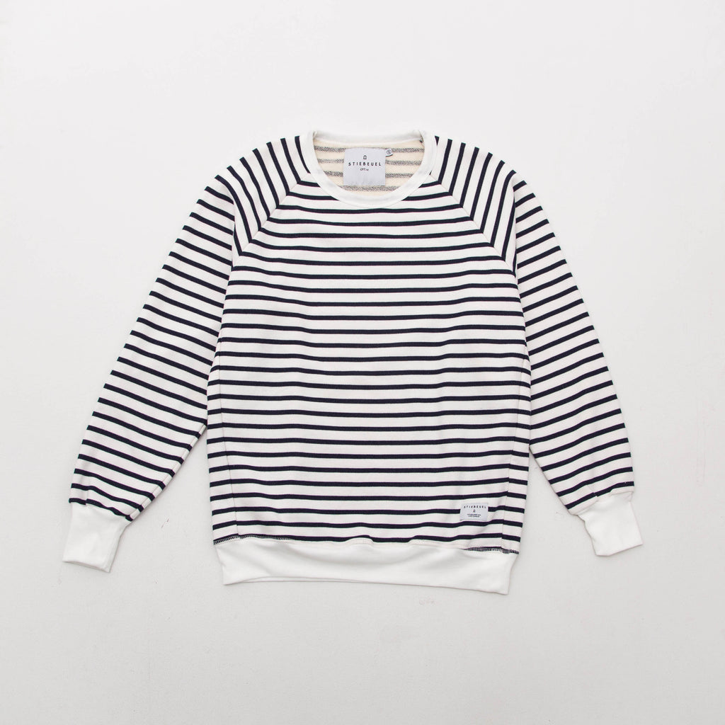 Stiebeuel Striped Sweater - Blue / White | AStore
