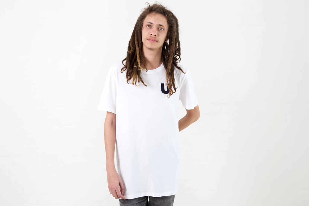 Upper Echelon Tee - White - Model