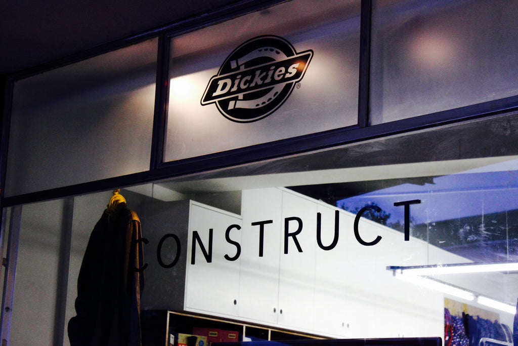 Dickies Contruct Launch A Store