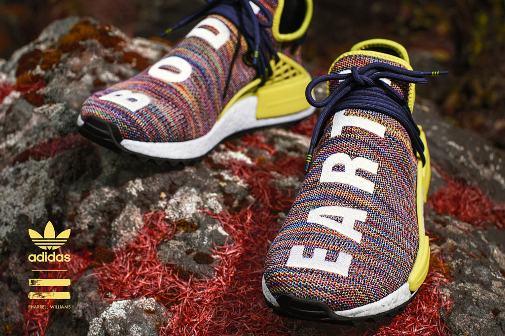 Pharrell Williams x adidas NMD Hu Trail Sneaker - Multicolour | AStore