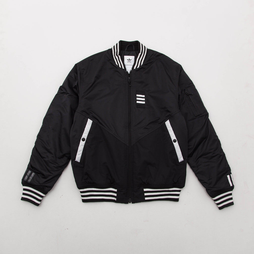 adidas White Mountaineering Flight Jacket - Black BQ4077 | AStore
