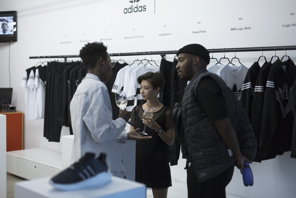 A Store adidas x White Mountaineering Launch - people interior