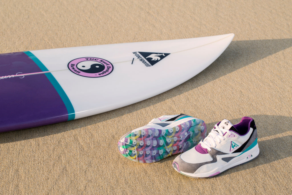 Le Coq Sportif x Town & Country Sneakers Surfboard