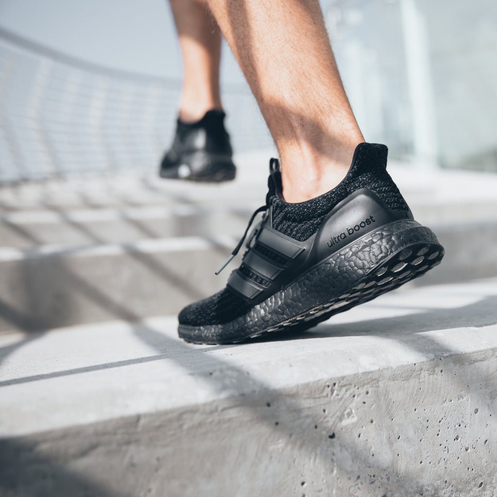 adidas UltraBOOST 3.0 - Triple Black - BA8920 - Walking