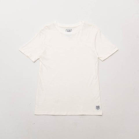 Basic T Shirt (Short Sleeve) - Cream - A Store