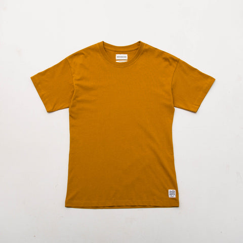 Box T Shirt (Short Sleeve) - Mustard - A Store