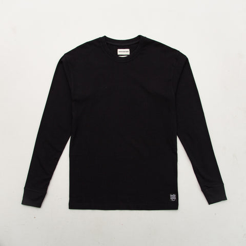 Box T Shirt (Long Sleeve) - Black - A Store
