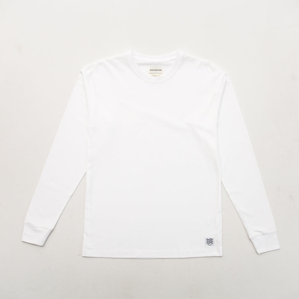 Box T Shirt (Long Sleeve) - White - A Store