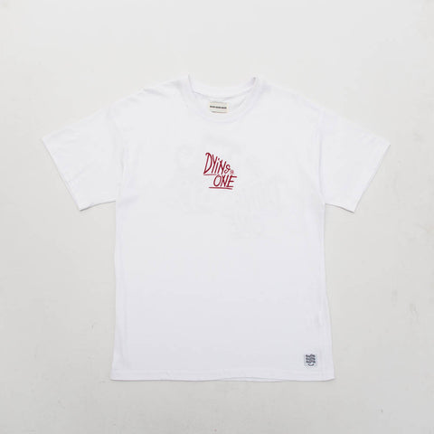 Dying For One Tee - White - A Store