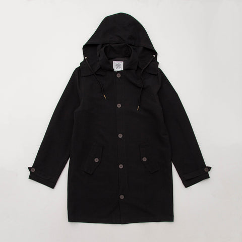 Good Good Good Mackintosh Parka - Black - Front | AStore