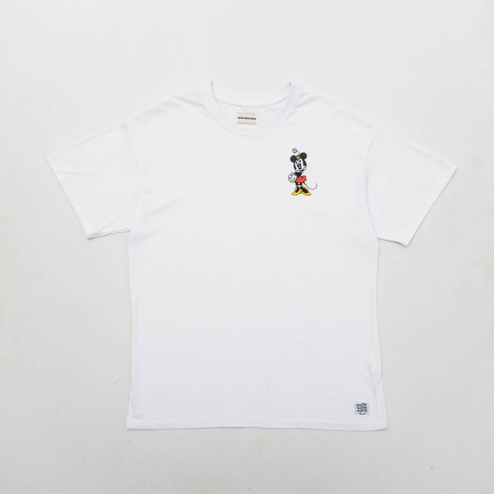 Minnie Tee - White - A Store