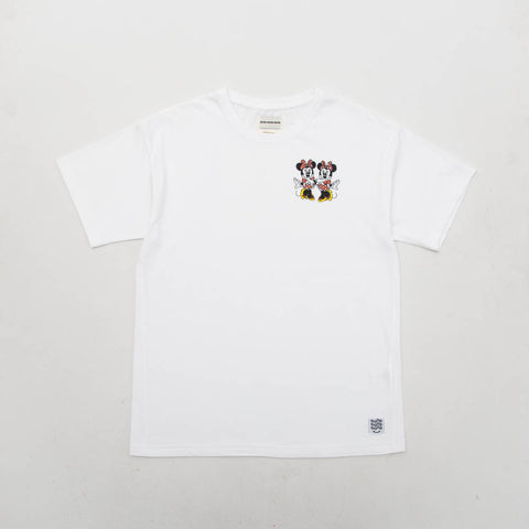 Minnie Twins Tee - White - A Store