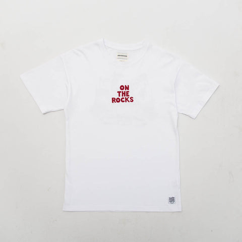 On The Rocks Tee - White