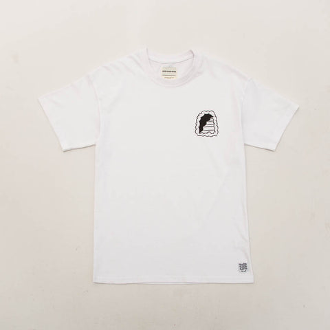 Shaun Hill 420 Staircase Tee - White