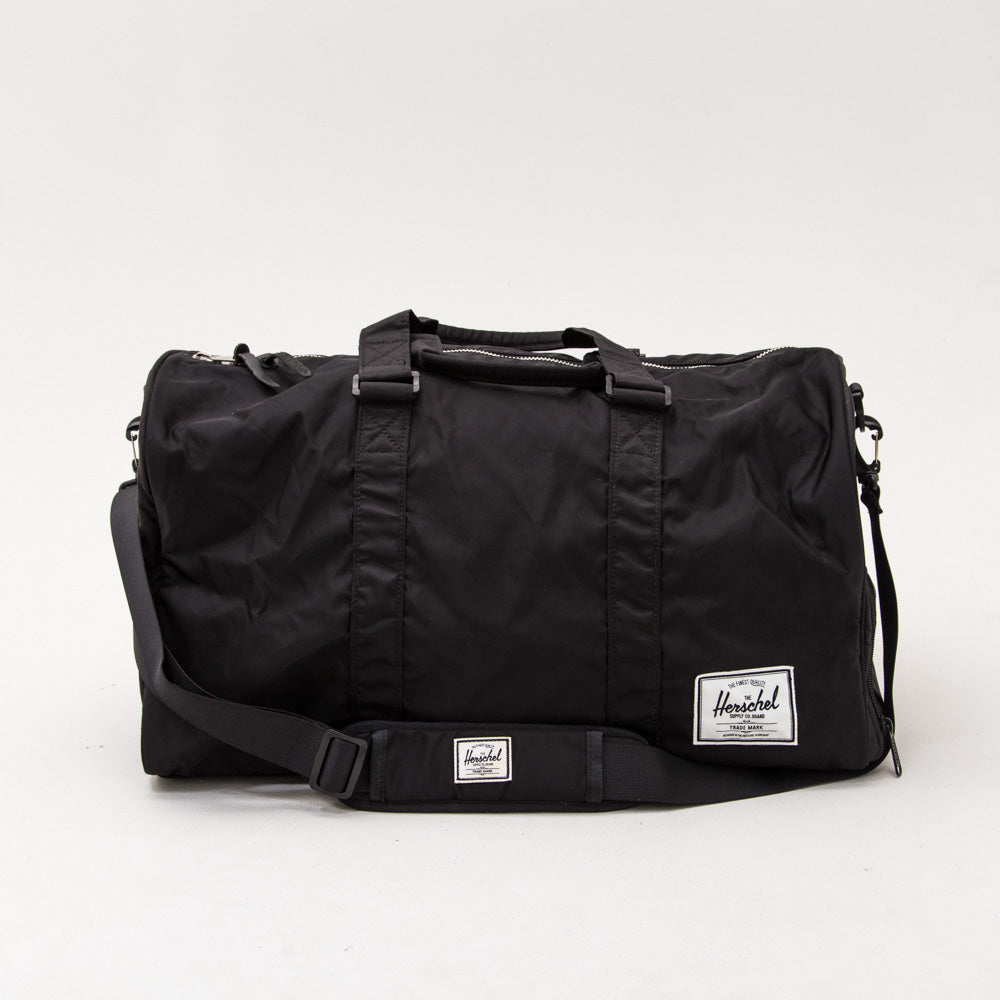 Novel Duffle - Black Nylon - A Store
