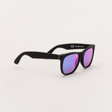 Super Classic Sunglasses - Black Flash Matte 166 | AStore
