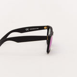 Super Classic Sunglasses - Black Flash Matte 166 - Side | AStore