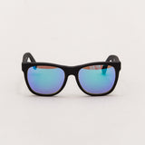 Super Classic Sunglasses - Black Flash Matte 166 - Front | AStore