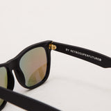Super Classic Sunglasses - Black Flash Matte 166 - Detail | AStore