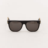 Super Flat Top Sunglasses - Francis Black Gold NIM - Front | AStore