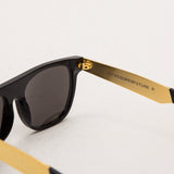 Super Flat Top Sunglasses - Francis Black Gold NIM - Detail | AStore
