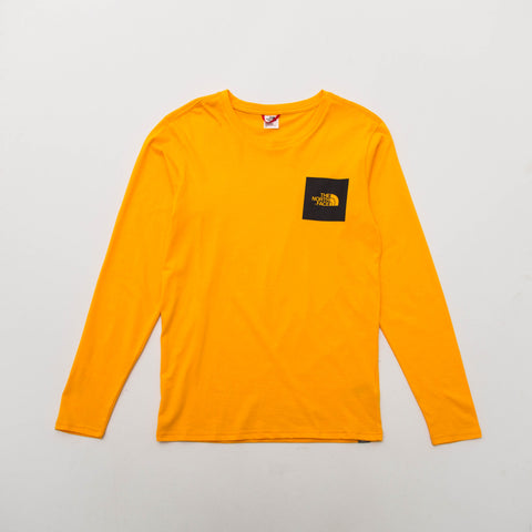 Long Sleeve Fine Tee - Zinnia Orange