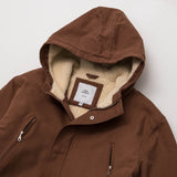 Simon Deporres Cedar Parka - Brown - Neck Label | AStore