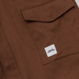 Simon Deporres Cedar Parka - Brown - Pocket | AStore