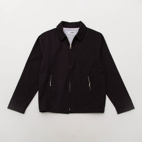 Simon Deporres Aviator Jacket - Black - Front | AStore