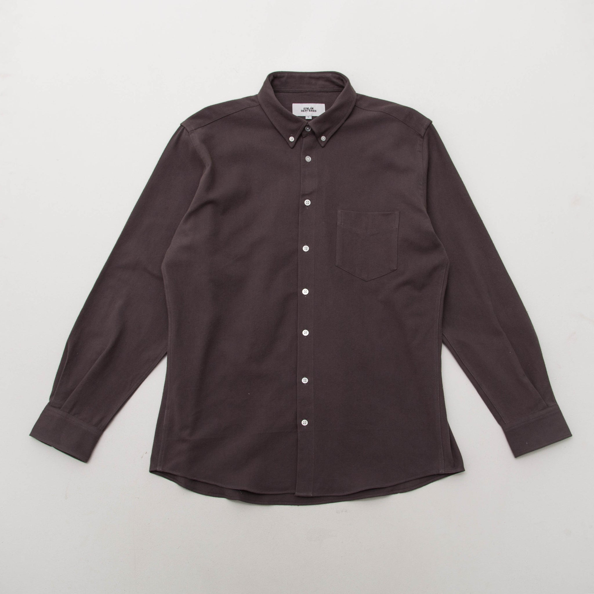 Simon Deporres Inventory Shirt - Grey - Front | AStore
