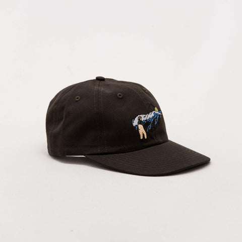 Surf Cast Polo Hat - Vintage Black