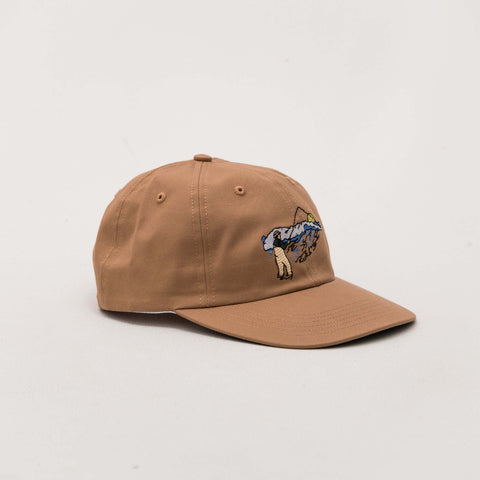 Surf Cast Polo Hat - Nutmeg
