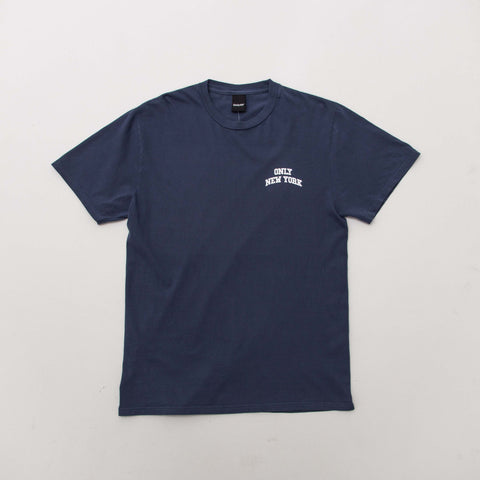 Only NY Varsity T Shirt - Blue - Front | AStore