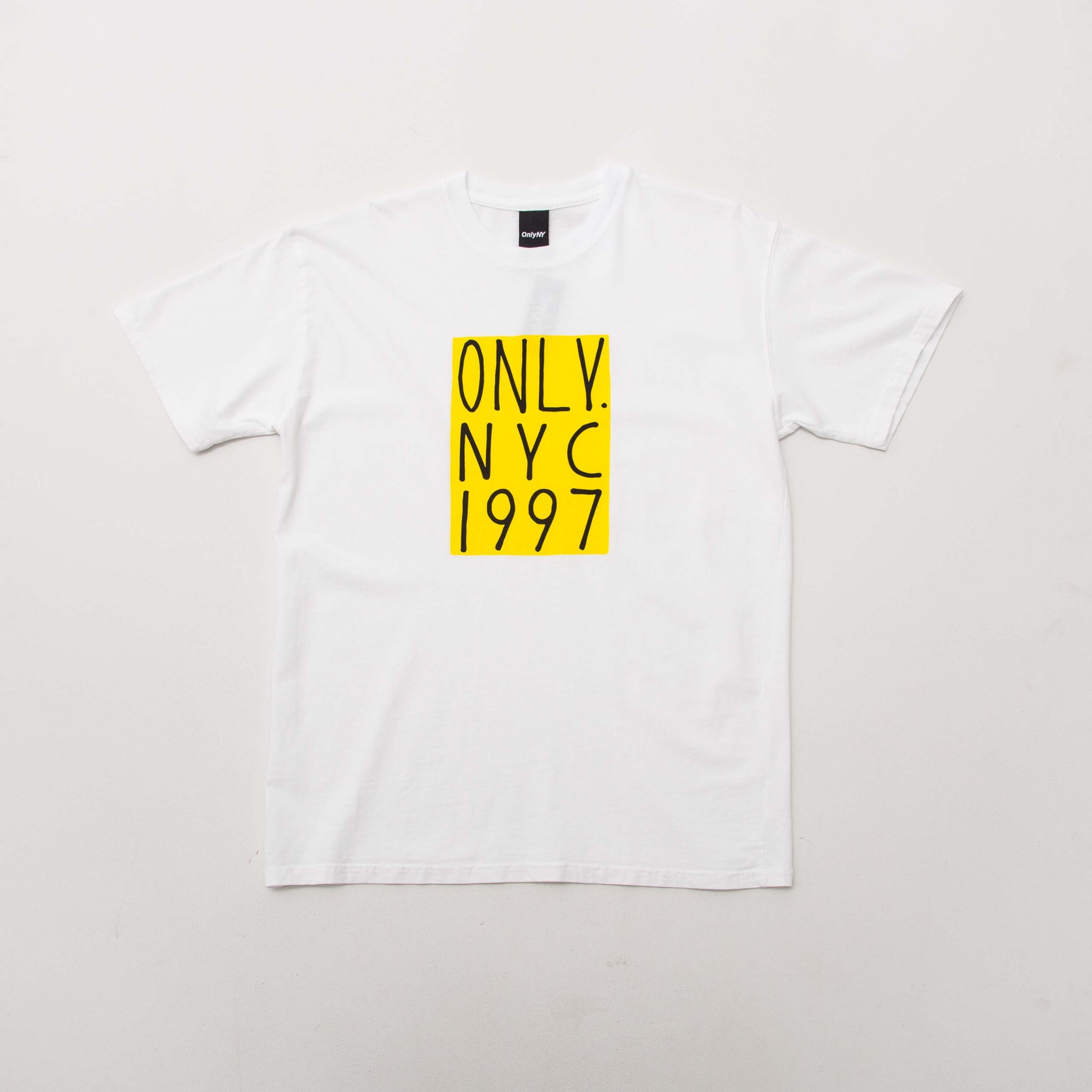 Only NY Bowery T Shirt - White | AStore