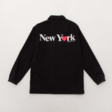 Only NY New York Love Coach Jacket - Black - Back | AStore