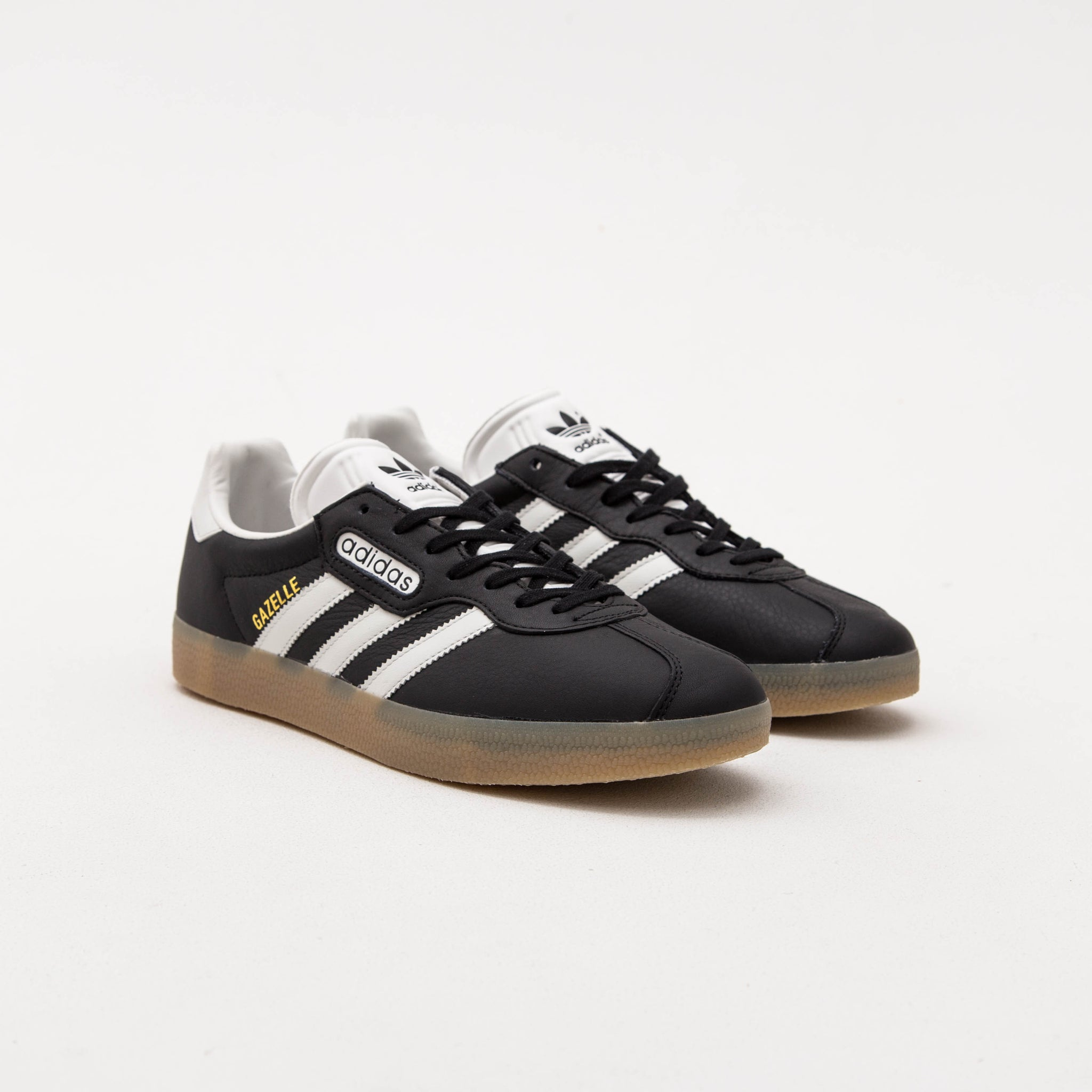 adidas Gazelle Super Sneakers - Core Black / Vintage White BB5244 | AStore