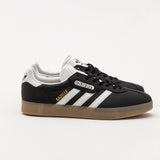 adidas Gazelle Super Sneakers - Core Black / Vintage White BB5244 - Side | AStore