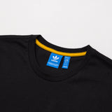 adidas Shadow Tones Tee - Black CE7110 - Neck | AStore